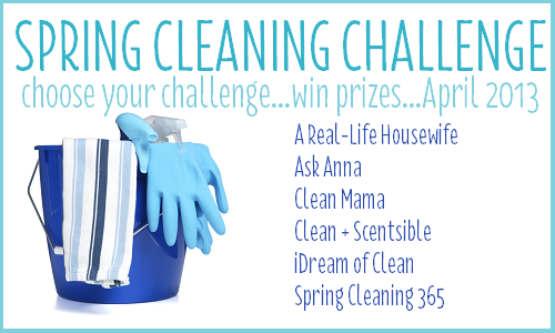 Spring Cleaning Challenge 2013 {win BIG prizes!}