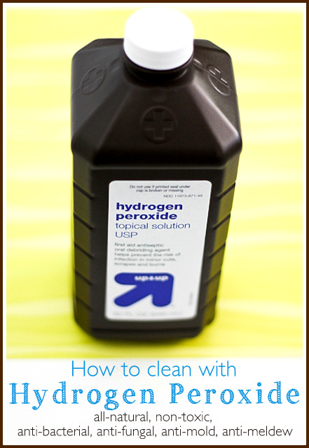 Tips for cleaning with hydrogen peroxide - Ask Anna