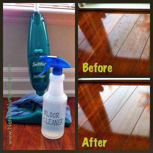 DIY floor cleaner