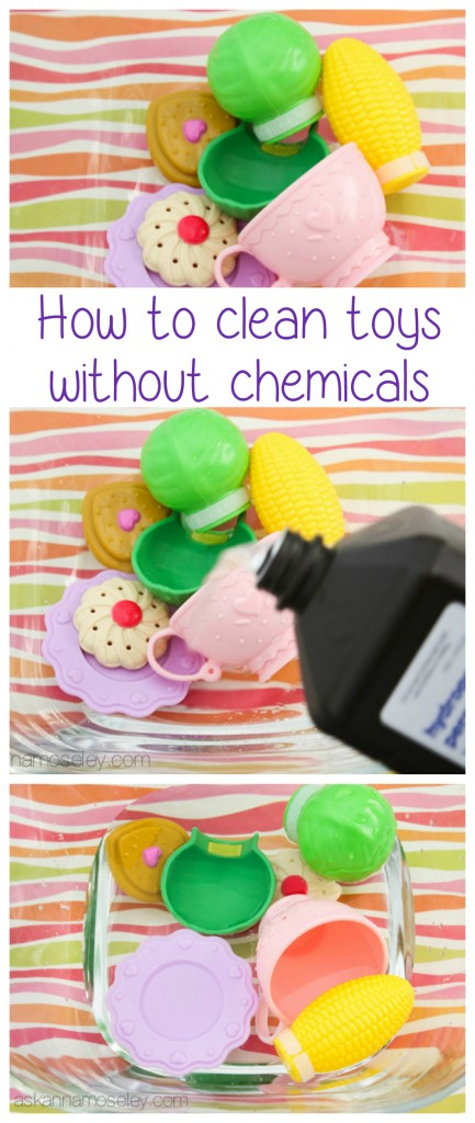 How to clean toys with hydrogen peroxide - Ask Anna