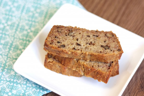 Gluten-free and vegan banana bread - Ask Anna