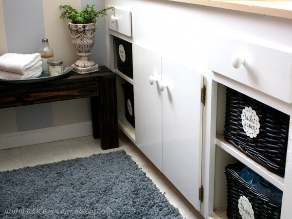 Organized bathroom cabinets - Ask Anna