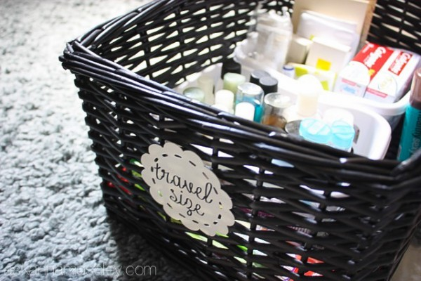Organizing bathroom cabinets - Ask Anna