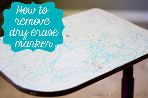 How to Remove Dry Erase Marker