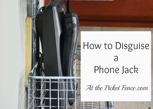 How to Hide the Phone Jack {Guest Post}