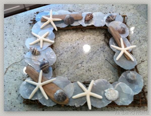 Beach Inspired Summer Wreath