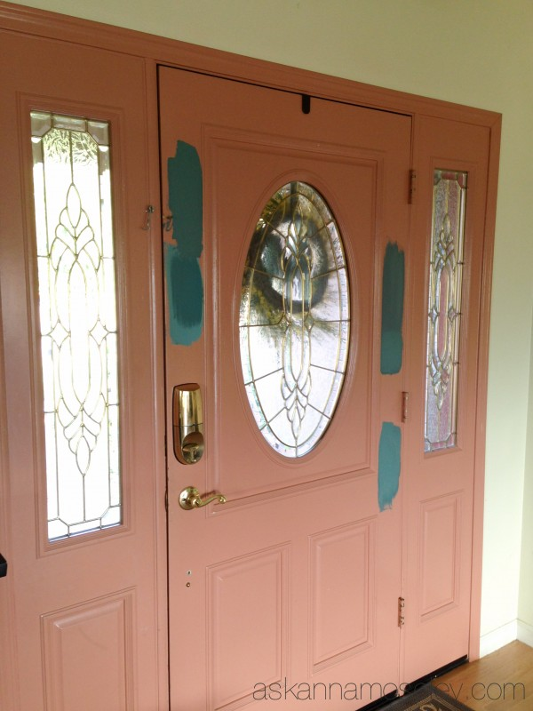 Chalkpaint door - Ask Anna & Unique Front Door Colors with Chalk Paint - Ask Anna