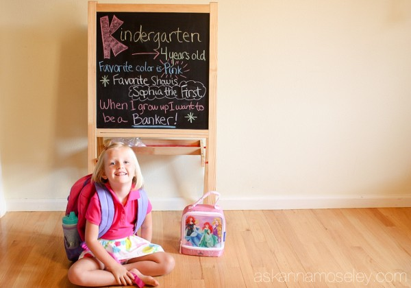Back to school pictures - Ask Anna