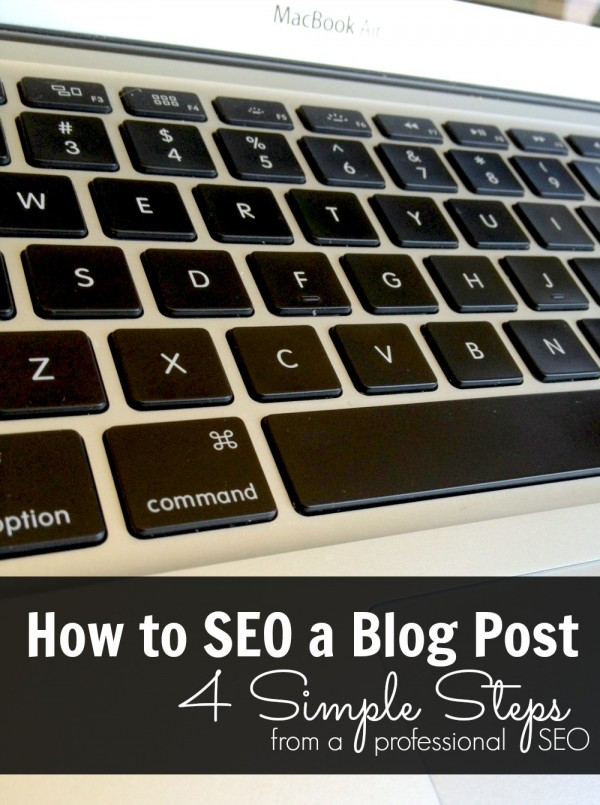 How to SEO a blog post - Ask Anna