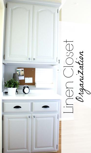 Linen closet organization -- Ask Anna