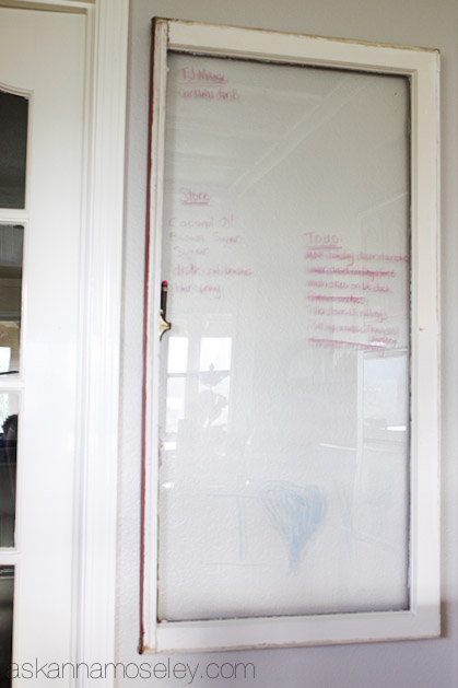 DIY Magnetic chalkboard tutorial -- Ask Anna