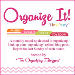 Organize It Link Party - Ask Anna