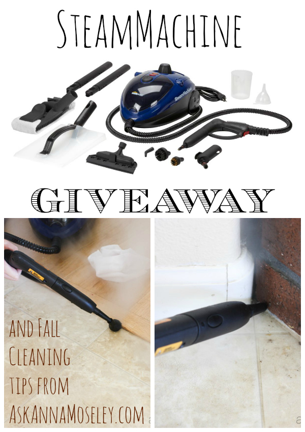 Fall Cleaning ~ Getting rid of Summer Dirt & a Giveaway!!!