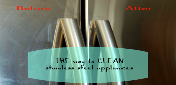 The BEST way to Clean Stainless Steel Appliances Ask Anna