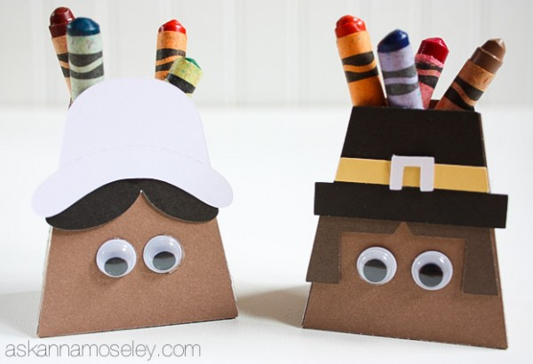 Thanksgiving party favors for kids - Ask Anna