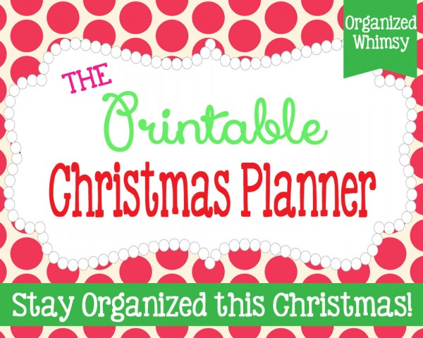 4 FREE printables to organize everything from your shopping to baking, this Christmas season | Ask Anna
