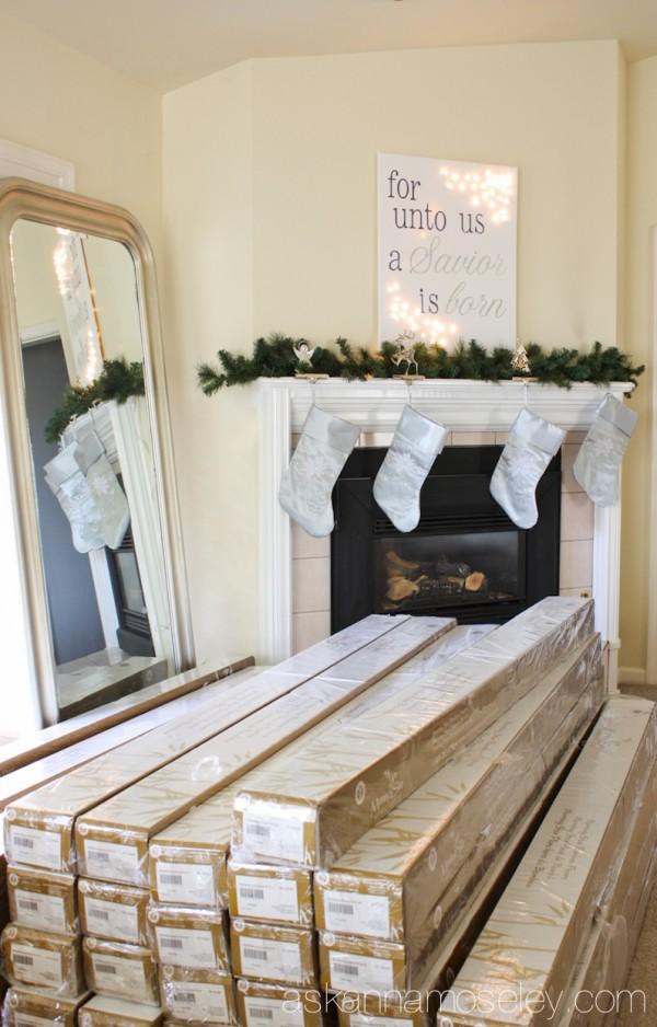 Christmas at Ask Anna's house