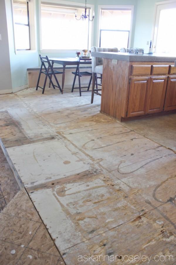 Flooring revonations - Ask Anna
