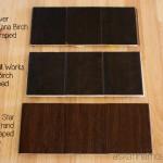 Lumber Liquidators hardwood samples - Ask Anna