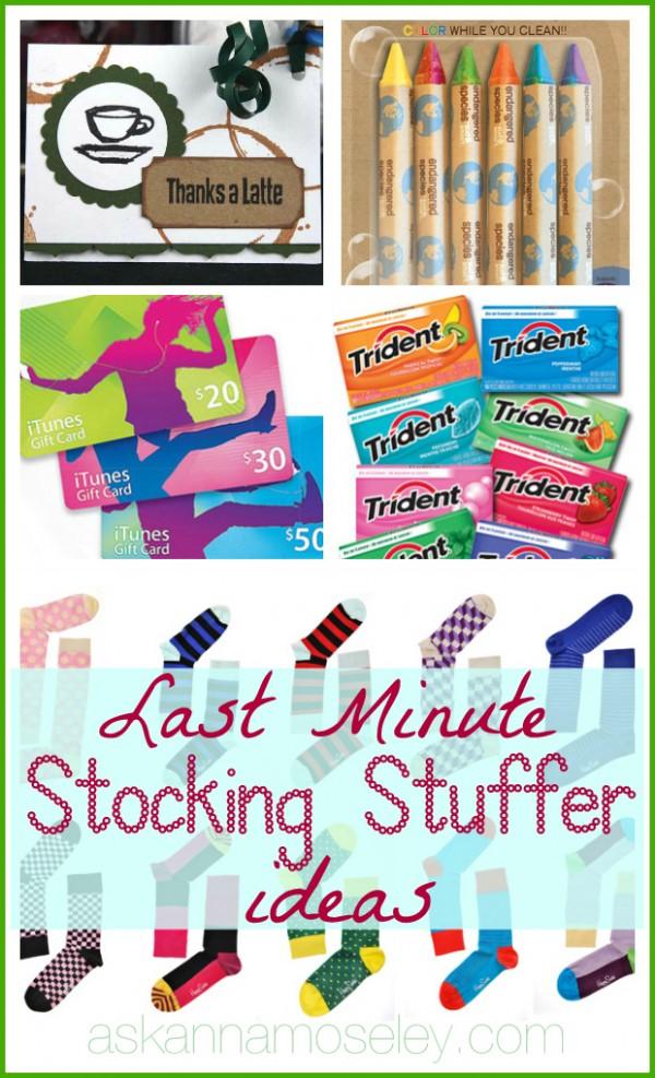Last minute stocking stuffer ideas - Ask Anna