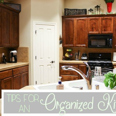 Perfection to Reality ~ Kitchen Organization Tips