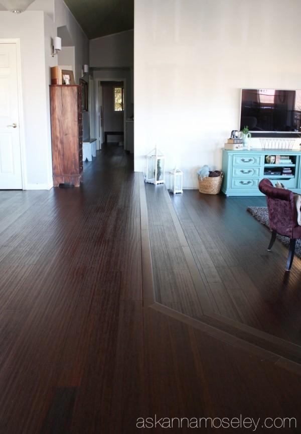 New Floors Reveal With Lumber Liquidators Bamboo Flooring