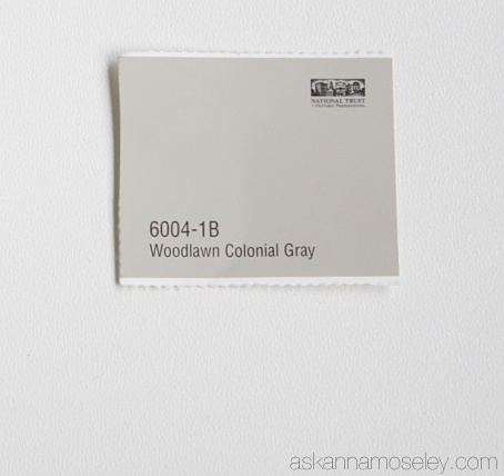Woodlawn Colonial Gray Paint Color   Ask Anna