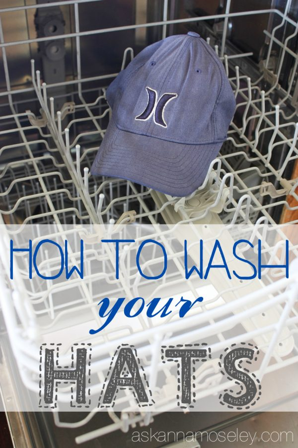 How to wash a hat - Ask Anna