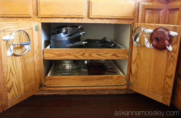 Organing pot lids - Ask Anna