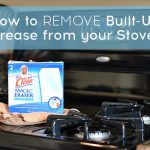 How to remove grease from a stove top and other appliances