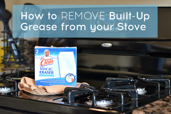 How to Remove Grease from a Stove Top
