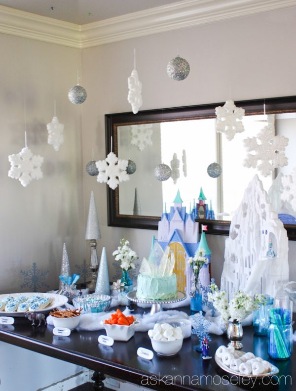 Frozen birthday party ideas - Ask Anna