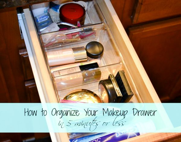 How To Organize A Makeup Drawer   Ask Anna