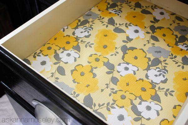 Duck Brand shelf liner - Ask Anna