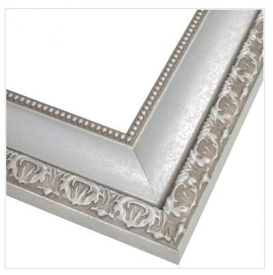 Bellemeade Vintage Silver MirrorMate frame - Ask Anna
