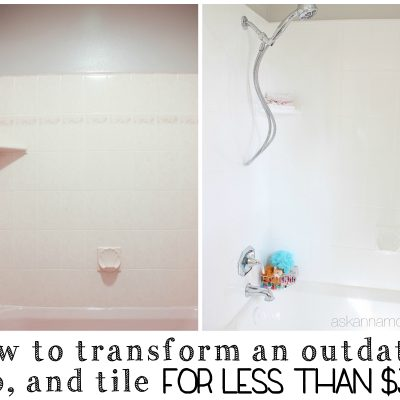 How to Update an Ugly Bathtub
