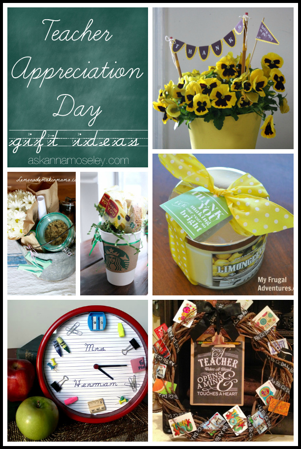 Teacher Appreciation gift ideas - Ask Anna