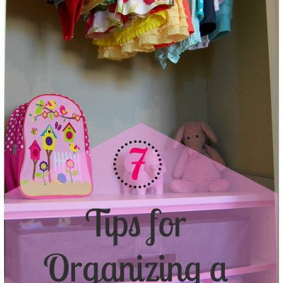 7 Tips for Organizing a Shared Closet for Kids