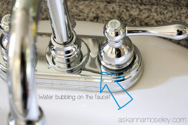 How To Clean Chrome Fixtures And Keep Them Clean A Giveaway Ask - How to clean chrome bathroom faucets