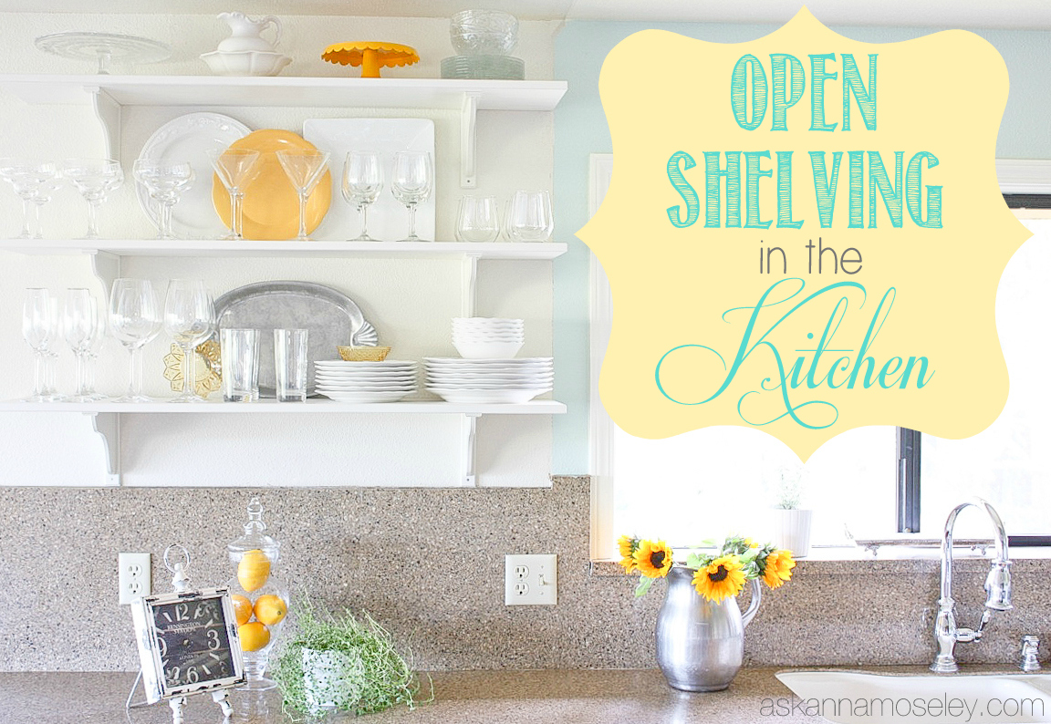 Open Shelving in the Kitchen (Finally!) - Ask Anna