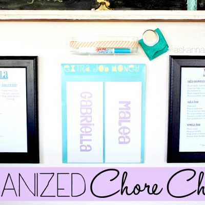 Organized Chore Charts