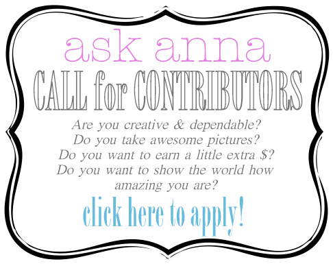 Call for contributors 2014 - Ask Anna