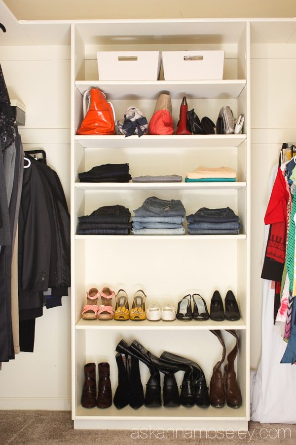 Closet organization - Ask Anna