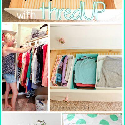 Closet Organization tips with thredUP