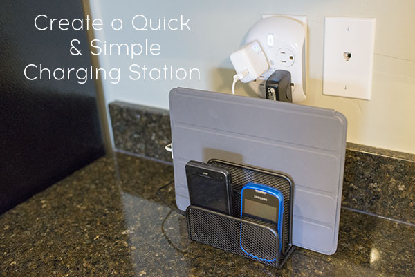 How To Set Up A Charging Station For Multiple Electronics