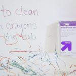 How to clean off tub crayons - Ask Anna