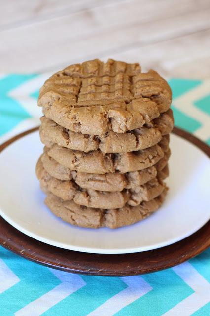 Soft peanut butter cookies - Sarah Bakes Gluten Free