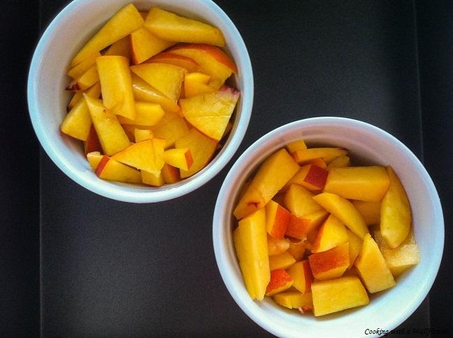 Peaches in Ramekins