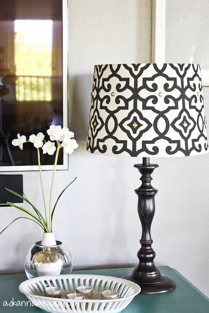 Lampshade Makeover And An Eddie Ross Hack