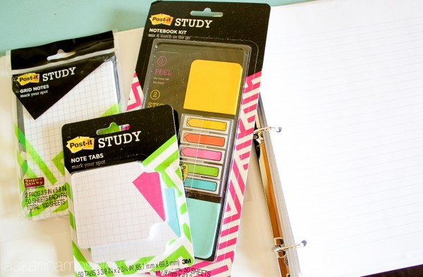 The Post-it STUDY collection